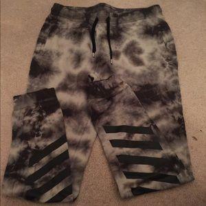 Men's tie dye sweatpants